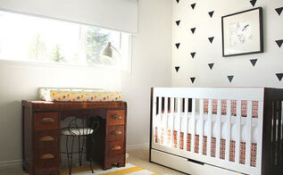 modern nursery makeover, bedroom ideas, diy, wall decor