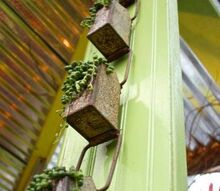 q what are these metal holders, container gardening, gardening, repurposing upcycling