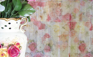 tissue paper transformation, decoupage, painted furniture, repurposing upcycling, shabby chic, storage ideas