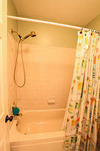 brightening the bathtub for under 100, bathroom ideas, painting, tiling
