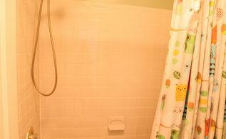 brightening the bathtub for under 100, bathroom ideas, painting, tiling