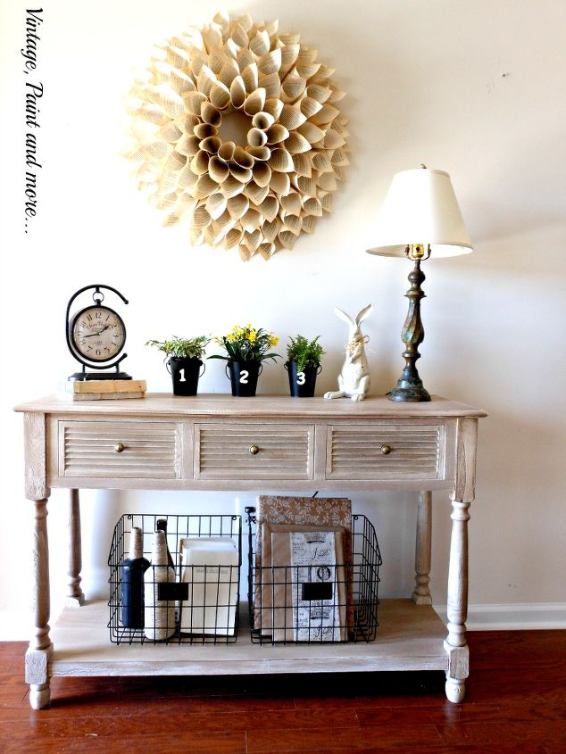 Foyer Decor Items : Industrial spring entryway decor hometalk