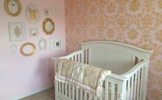 cutting edge stencils shares stenciled nursery ideas, bedroom ideas, painting, wall decor