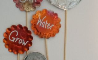 diy flower pot stakes, crafts, flowers, gardening, how to