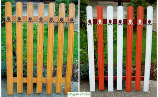 coat rack before and after, foyer, organizing, painted furniture, wall decor