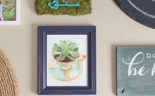 diy moss wall decor, crafts, how to, repurposing upcycling, wall decor