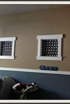 how to inexpensively cover little decorative windows, how to, window treatments, windows