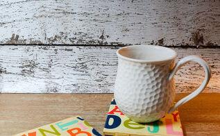 teacher appreciation alphabet coasters, crafts, how to, repurposing upcycling