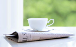 19 new uses for old newspaper at home, cleaning tips, repurposing upcycling