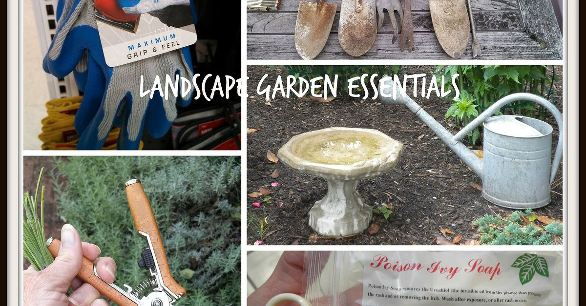 Landscape Garden Tools And Essentials Hometalk