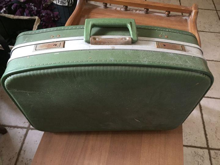 Funky Vintage Suitcase Makeover | Hometalk