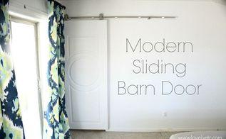 modern sliding barn door, doors, small bathroom ideas