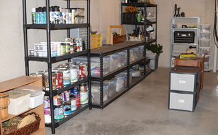 a bit of basement organization, basement ideas, organizing, storage ideas