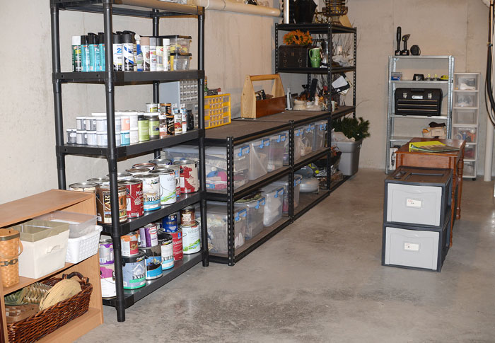 A Bit Of Basement Organization Hometalk