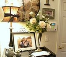 welcoming spring, fireplaces mantels, foyer, living room ideas, seasonal holiday decor