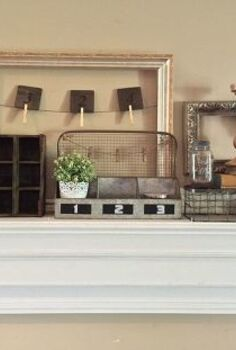 life to old things, chalk paint, fireplaces mantels, repurposing upcycling