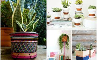 10 diy houseplant pots cute enough for sara jessica parker s pad