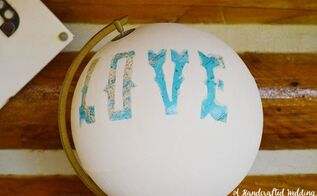 diy painted globe, crafts