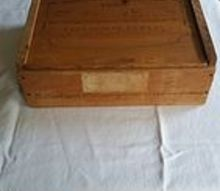 q what to do with an old wine box, crafts, repurposing upcycling, With the top closed