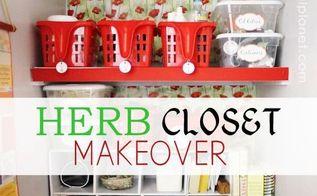 fun closet makeover, closet, crafts, how to, organizing, storage ideas