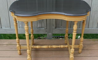 removing paint from spindles, chalk paint, how to, painted furniture
