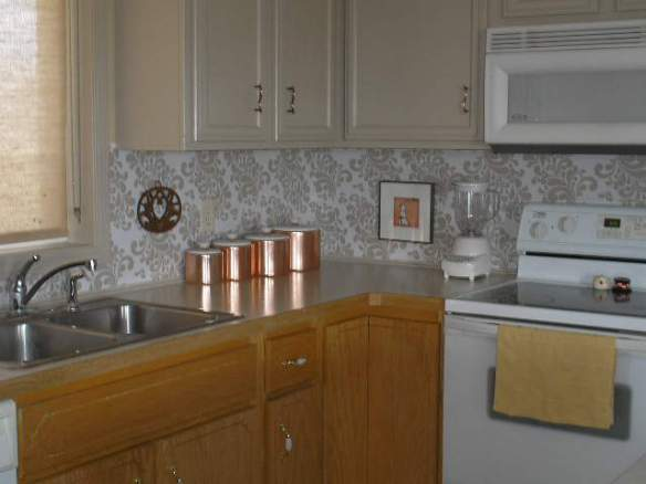 beautiful backsplash for 10 and a little elbow grease diy how to