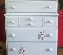 the alice dresser, painted furniture, repurposing upcycling