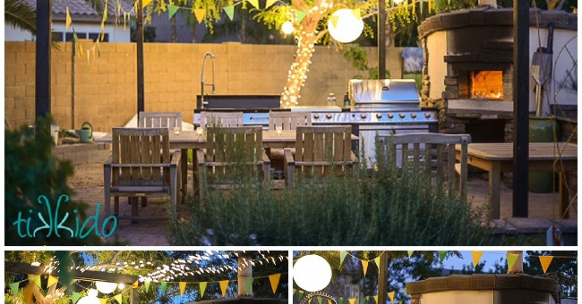 How To Build a Wood Fired Pizza Oven in Your Backyard ...