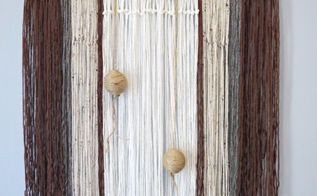 let s make yarn art, crafts, how to, repurposing upcycling, wall decor