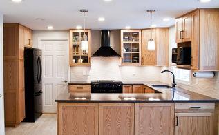 contemporary kitchen remodel, home improvement, kitchen cabinets, kitchen design