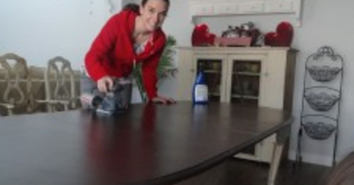 How To Refinish A Kitchen Table Re Do Hometalk