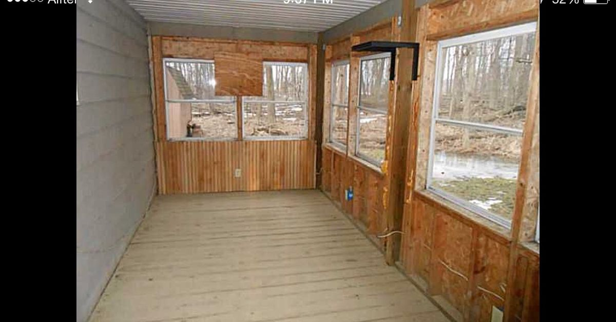 Sunroom Flooring Use As Is Or Replace With Something