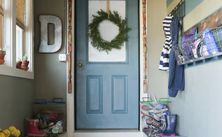creating a mudroom, diy, foyer, garages, paint colors, storage ideas, wall decor