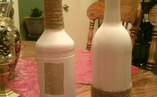 jute wrapped wine bottles, crafts, how to, repurposing upcycling