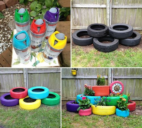 I have a bunch of old tires what can i do with them for What do you do with old tires