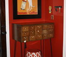 the elusive card catalog and how i repurposed mine, painted furniture, repurposing upcycling