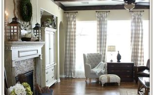 diy wood beams, diy, living room ideas, wall decor, woodworking projects