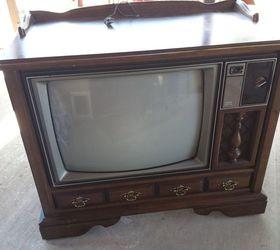 Vintage TV Cabinet Turned Dog Bed! | Hometalk