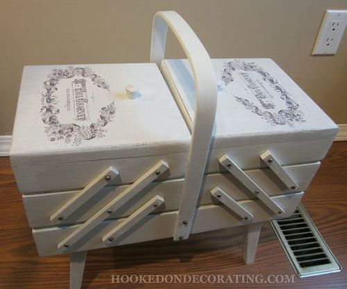 Would You Paint This Antique Sewing Box Help Me Hometalk