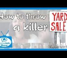 how to throw a killer yard sale