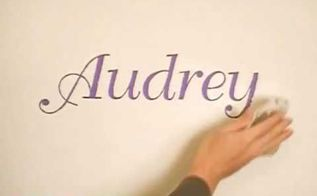 wall lettering made easy, bedroom ideas, painting, Make your own letter stencils and add a personalized touch to any room We ll show you how to create your own wall stencils