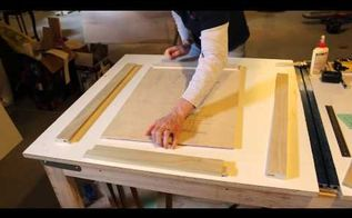 how to make shaker style inset cabinet doors, doors, kitchen cabinets, woodworking projects