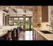 creating a rustic interior design with brickwork, concrete masonry, kitchen design