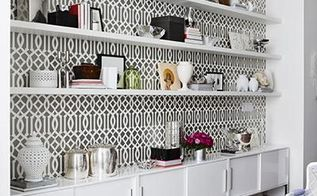 stenciling a sophisticated dining room, dining room ideas, painting, wall decor