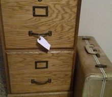 q what should i do to this file cabinet, painted furniture, repurposing upcycling