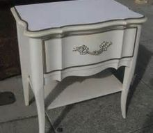french provincial makeover, painted furniture