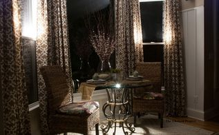 dramatic day to night with 10 lights 30dayflip, dining room ideas, home improvement, how to, kitchen design, lighting