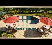 why choosing pavers over other material for your pool deck, concrete masonry, outdoor living, pool designs, Artistic Paver Mfg