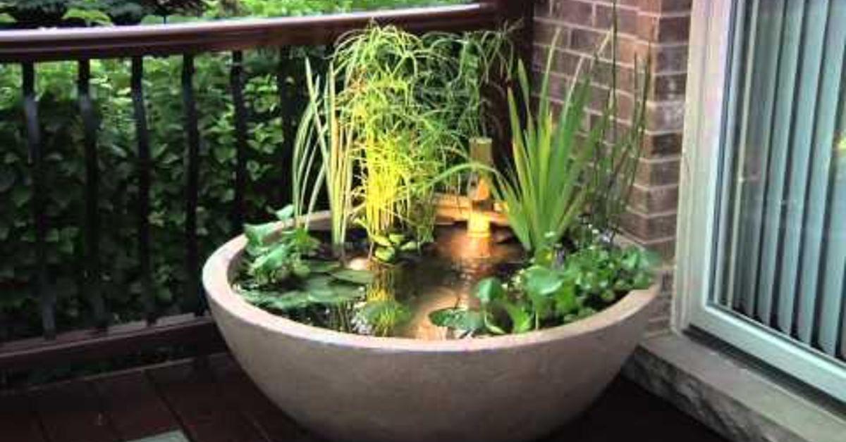 diy patio pond enjoy the lifestyle gardening patio ponds water features: diy patio pond