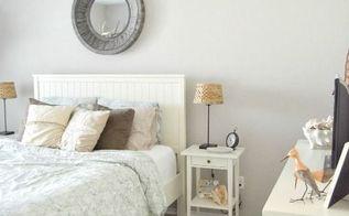 a coastal guest bedroom, bedroom ideas